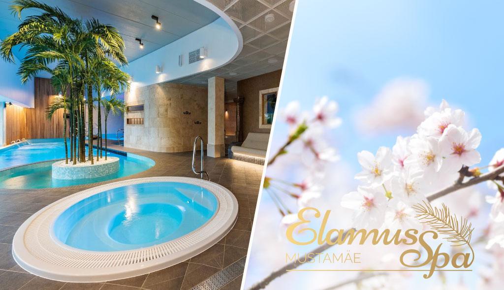 Eesti suurim spaa- ja saunakeskus Mustamäe Elamus Spa ootab kevadet nautima!