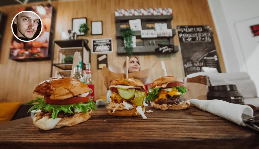 Chilli Kerthi B-Day Burger Viimsi Burger Kitchenis